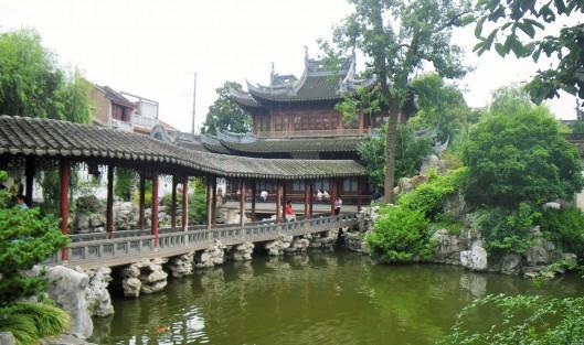 The Yu Yuan gardens, Shanghai.